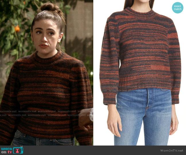 Veronica Beard Lumina Sweater worn by Jackie Raines (Rachel Sennott) on Call Your Mother
