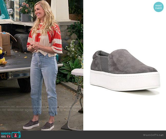 Vince Warren Sneakers worn by Gemma (Beth Behrs) on The Neighborhood