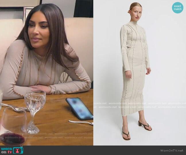 Paloma Dress by Kerne Milk worn by Kim Kardashian  on Keeping Up with the Kardashians