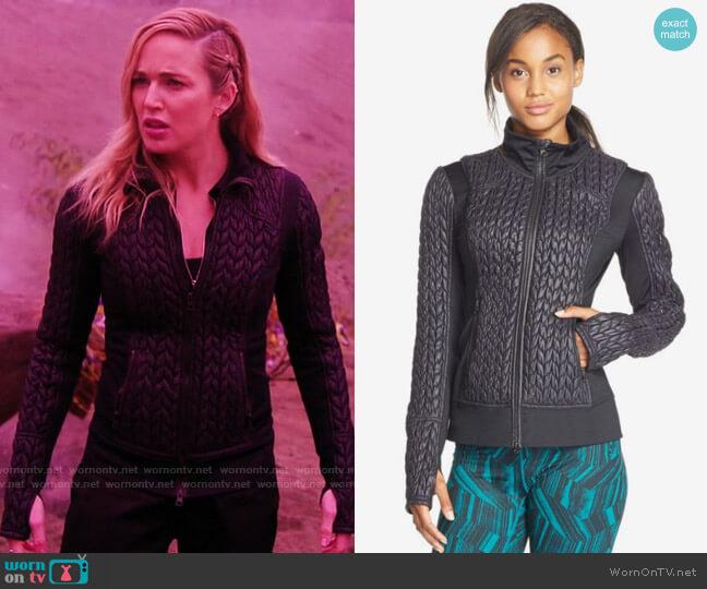 Zella Mikaela Jacket worn by Sara Lance (Caity Lotz) on Legends of Tomorrow