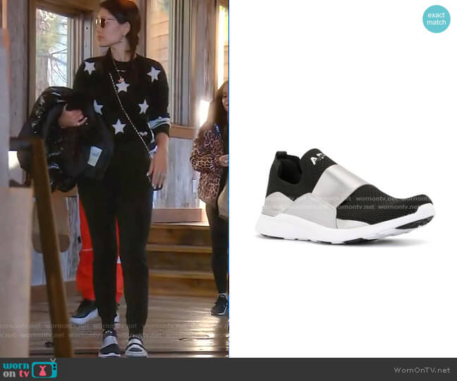 Techloom Bliss Low-Top Trainers by APL: ATHLETIC PROPULSION LABS worn by Crystal Kung Minkoff  on The Real Housewives of Beverly Hills