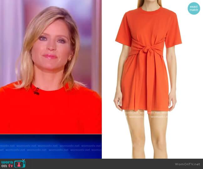 Evie Tie Waist Dress by Alice + Olivia worn by Sara Haines  on The View