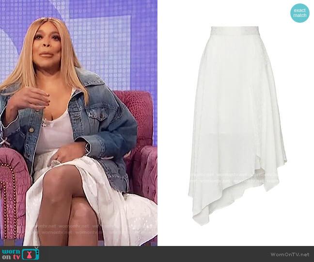 Amorphous Skirt Elliatt worn by Wendy Williams  on The Wendy Williams Show