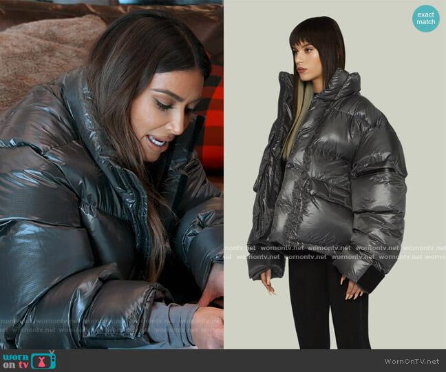 PFD Puffer Jacket by Entire Studios worn by Kim Kardashian  on Keeping Up with the Kardashians