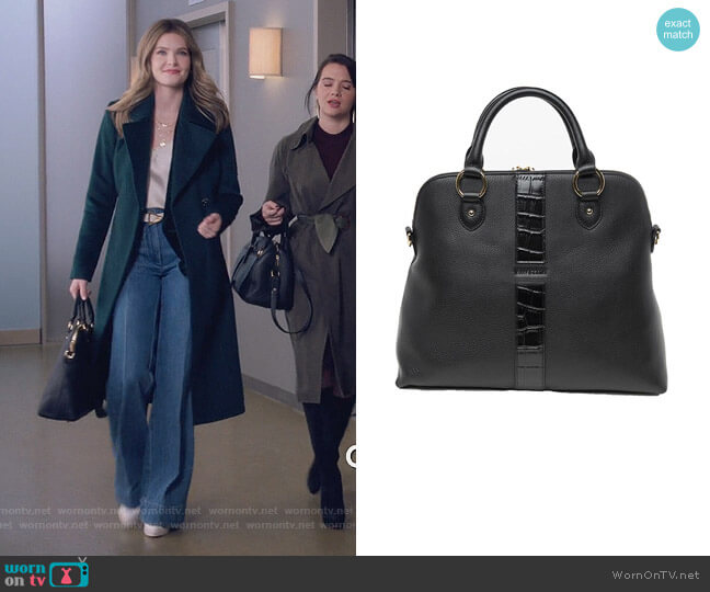 Tote Bag by Chloe worn by Sutton (Meghann Fahy) on The Bold Type