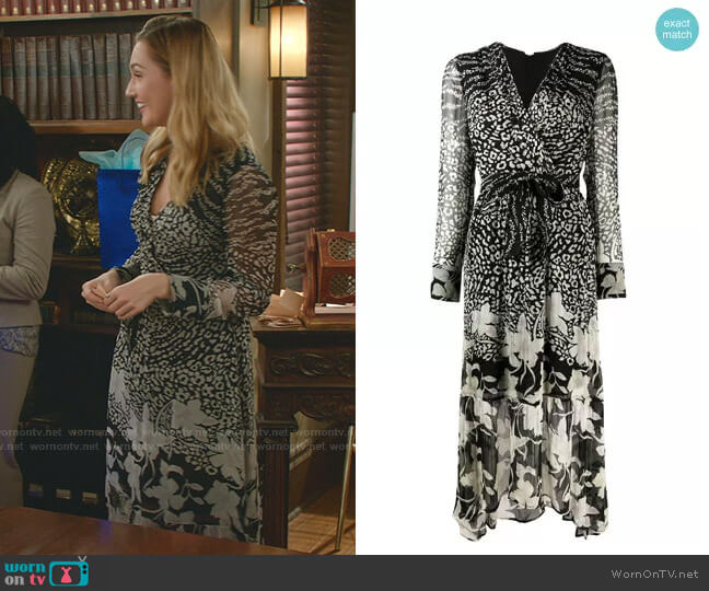 Florence Tempo Dress by All Saints worn by Joy Harper (Katherine Barrell) on Good Witch