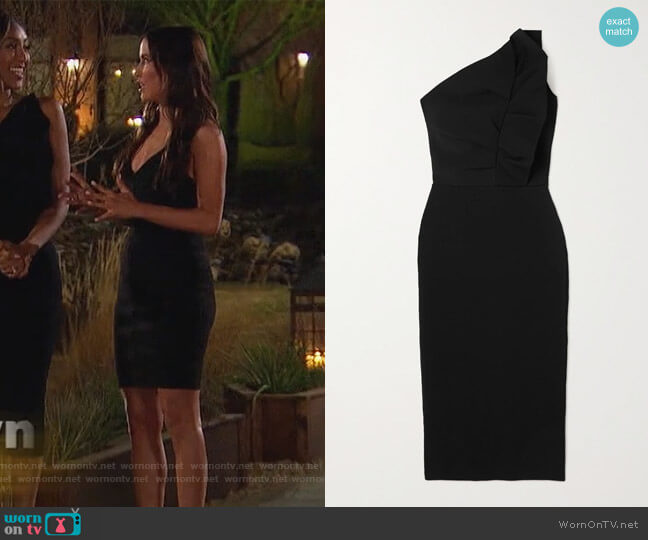 Icon bandage dress by Herve Leger worn by Kaitlyn Bristowe on The Bachelorette