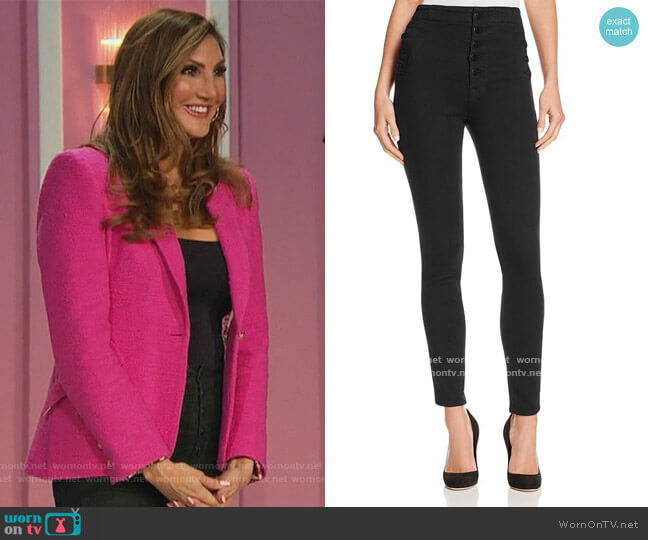 Natasha Sky High Skinny Jeans by J Brand worn by Heather McDonald on The Bachelorette