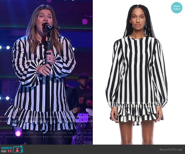Paris Dress by Jonny Cota worn by Kelly Clarkson  on The Kelly Clarkson Show