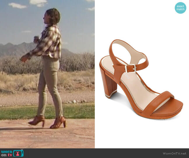 Andra High-Heel Sandals by Kenneth Cole worn by Katie Thurston  on The Bachelorette