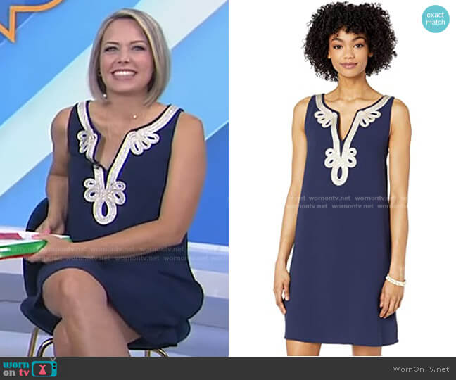 Cherlyn Dress by Lilly Pulitzer worn by Dylan Dreyer  on Today