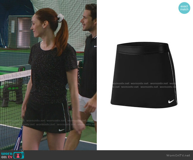Court Dry Skirt by Nike worn by Abigail Pershing (Sarah Power) on Good Witch