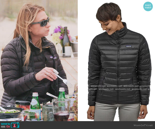 Down Sweater Jacket by Patagonia worn by Heather on The Real Housewives of New York