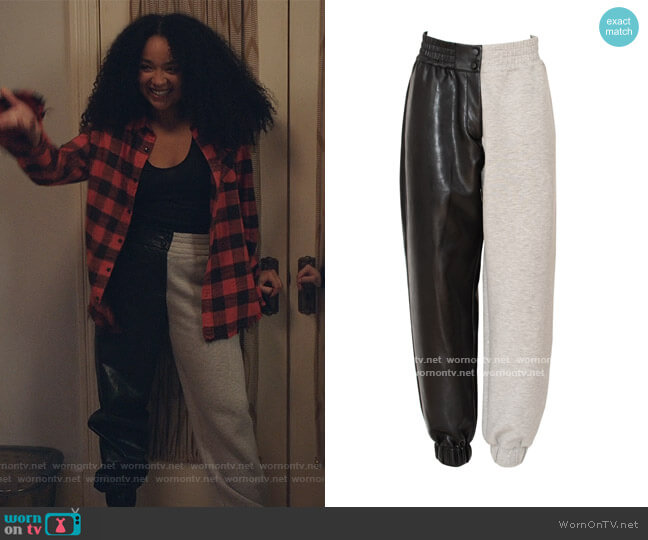 Let's Chill Pants by The Brand Label worn by Kat Edison (Aisha Dee) on The Bold Type