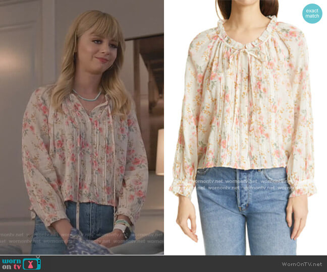 Valley Top by The Great worn by Anna Lore on All American
