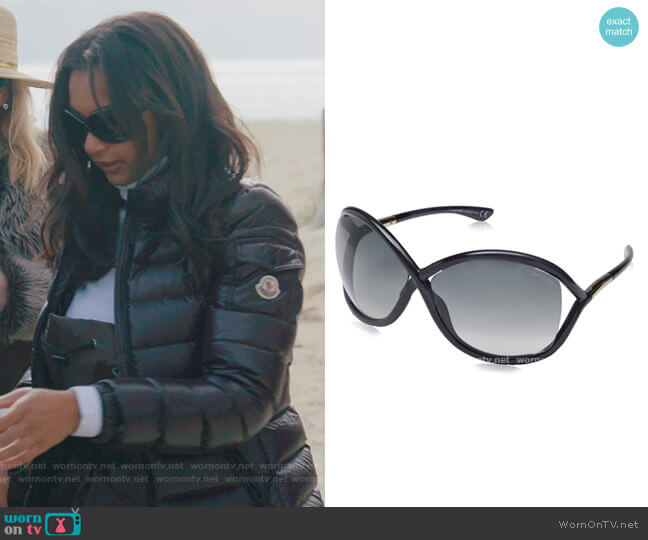 Whitney Sunglasses by Tom Ford worn by Eboni K. Williams (Ebony K. Williams) on The Real Housewives of New York City
