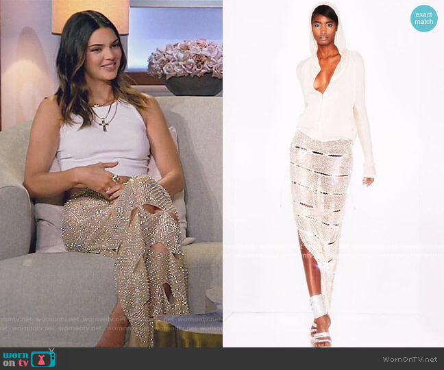 2013 Collection by Tom Ford worn by Kendall Jenner  on Keeping Up with the Kardashians