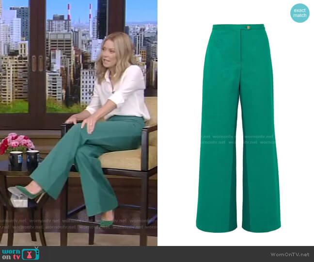 Tyrah Pants by Acne Studios worn by Kelly Ripa  on Live with Kelly & Ryan
