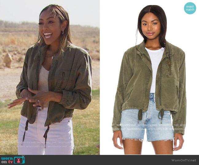 Clara Jacket by YFB Clothing worn by Tayshia Adams  on The Bachelorette