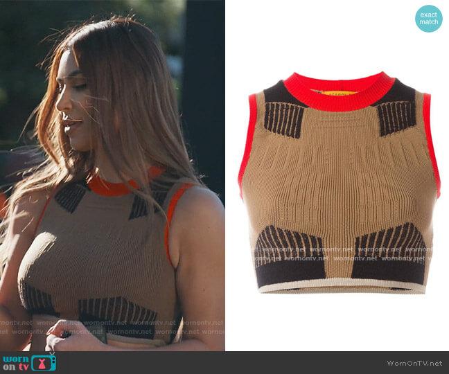 Season 3 Knit Top by Yeezy worn by Kim Kardashian  on Keeping Up with the Kardashians