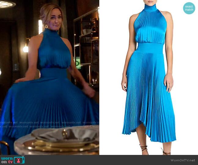 ALC Renzo Dress worn by Sara Lance (Caity Lotz) on Legends of Tomorrow