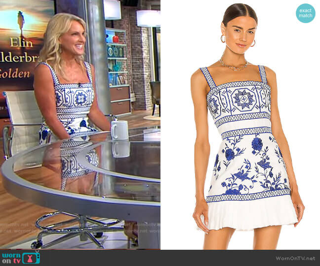 Alexis Asteria Dress worn by Elin Hilderbrand on CBS This Morning