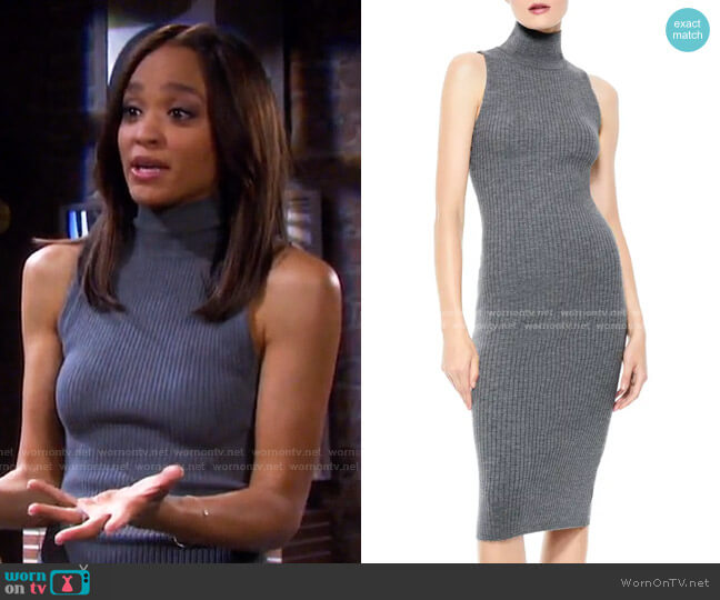 Brooklynne Dress by Alice + Olivia worn by Lani Price (Sal Stowers) on Days of our Lives