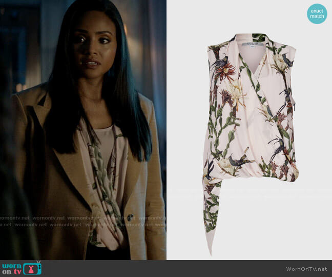All Saints Abi Nolina Top worn by Sophie Moore (Meagan Tandy) on Batwoman