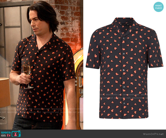 All Saints Romanza  Shirt worn by Spencer Shay (Jerry Trainor) on iCarly