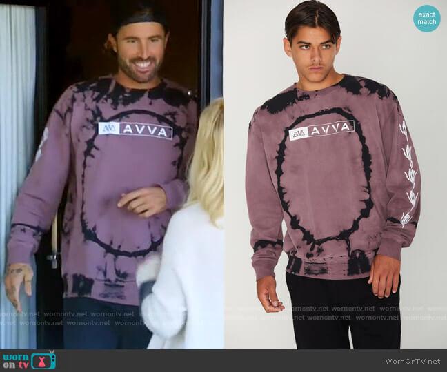 AVVA Bone Shaka Crew worn by Brody Jenner  on The Hills New Beginnings