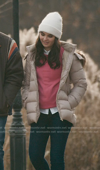 Bella's puffer jacket on The Republic of Sarah