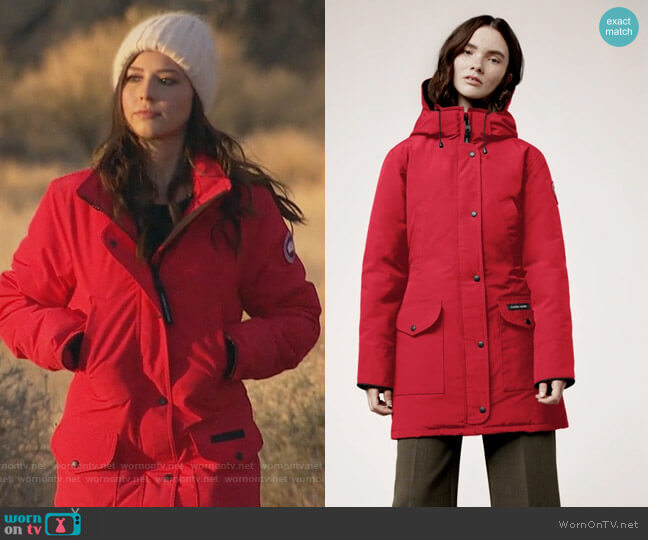 Trillium Parka by Canada Goose worn by Katie Thurston  on The Bachelorette