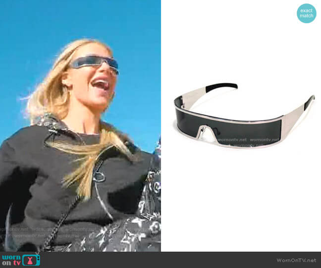 Punk Sunglasses by Dior worn by Dorit Kemsley  on The Real Housewives of Beverly Hills