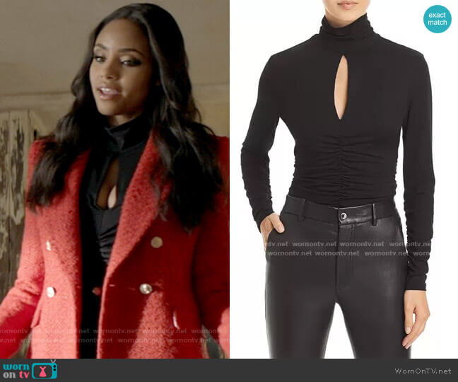 Frame Felicity Keyhole Top worn by Sophie Moore (Meagan Tandy) on Batwoman
