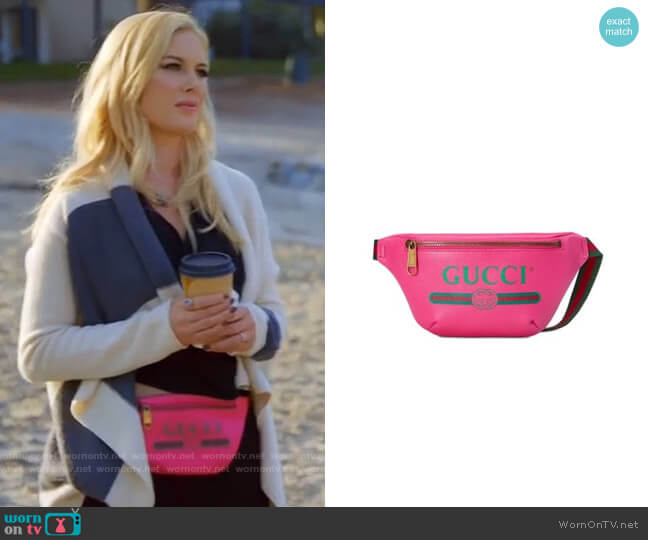 Gucci Small Pink Belt Bag worn by Heidi Montag  on The Hills New Beginnings