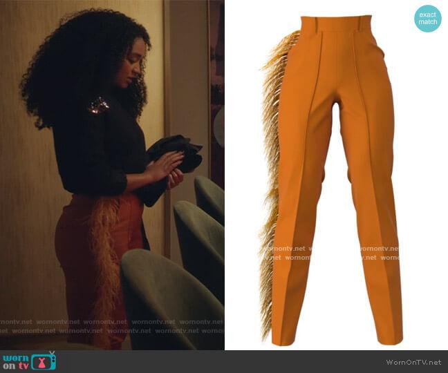 Ava Pants by Hanifa worn by Kat Edison (Aisha Dee) on The Bold Type