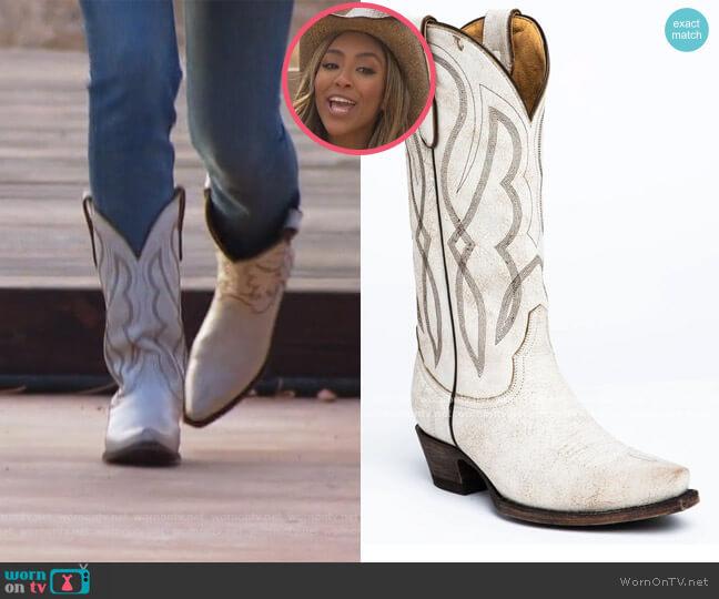 Colt Western Boots by Idyll Wind worn by Tayshia Adams  on The Bachelorette