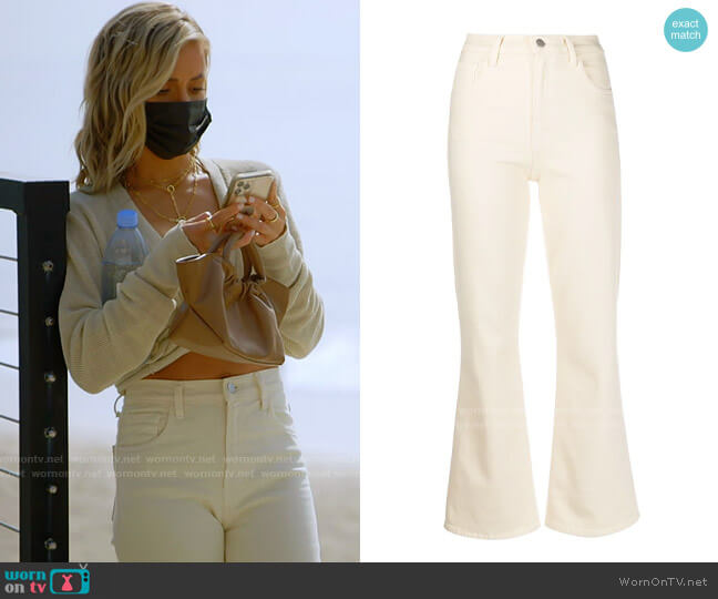 J Brand Flared Slim Jeans