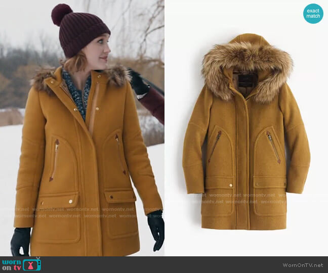 J. Crew Chateau Parka worn by Corinne Dearborn (Hope Lauren) on The Republic of Sarah