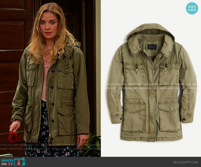 J. Crew Lightweight Utility Jacket worn by Allison (Annie Murphy) on Kevin Can F**k Himself