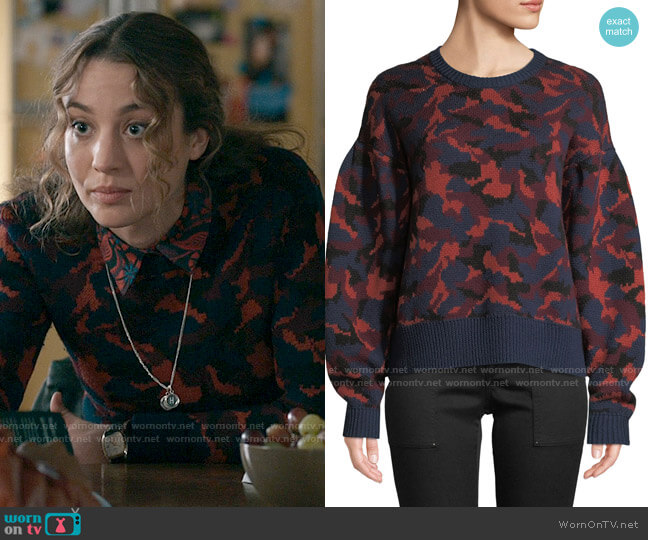 Joie Brycen Sweater worn by Sarah Cooper (Stella Baker) on The Republic of Sarah