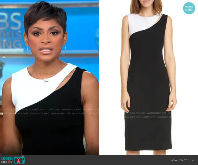 Judith & Charles Massena Dress worn by Jericka Duncan  on CBS Mornings