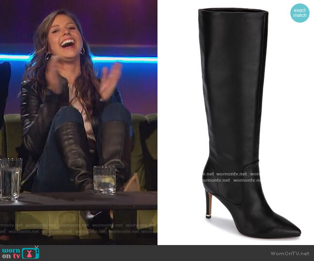 Riley 85 Tubular Boots by Kenneth Cole worn by Katie Thurston  on The Bachelorette