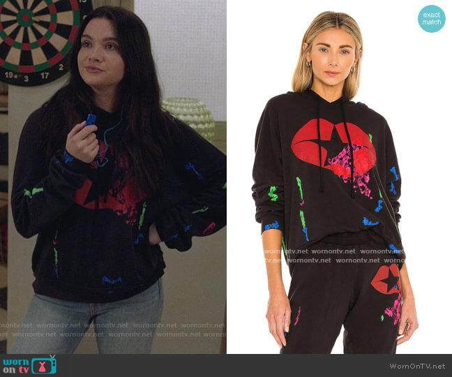 Lila Star Kiss Sweatshirt by Lauren Moshi worn by Jane Sloan (Katie Stevens) on The Bold Type