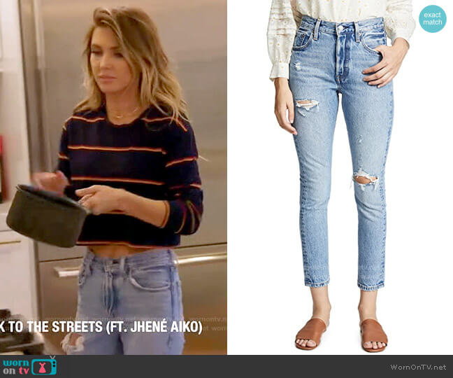 Levis 501 Skinny Jeans in Can't Touch This worn by Audrina Patridge  on The Hills New Beginnings