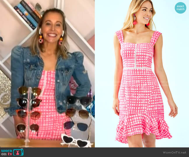 Avalyn Stretch Dress by Lilly Pulitzer worn by Jenn Falik on Today