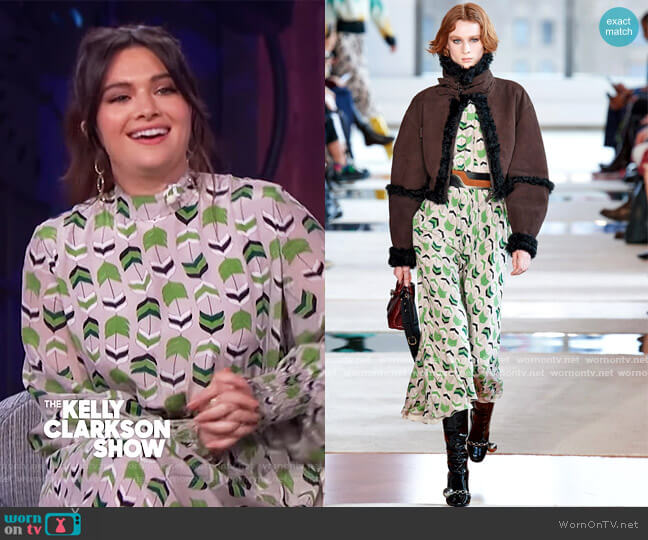 2020 Fall Collection by Longchamp worn by Kattie Stevens on The Kelly Clarkson Show