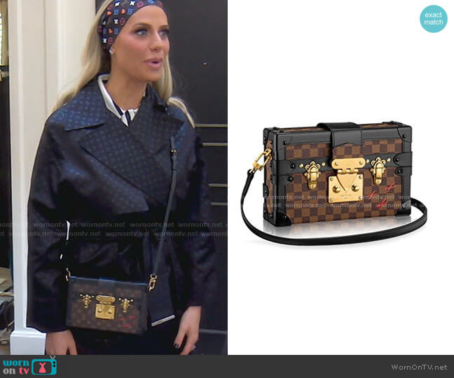 Malle Bag by Louis Vuitton worn by Dorit Kemsley  on The Real Housewives of Beverly Hills