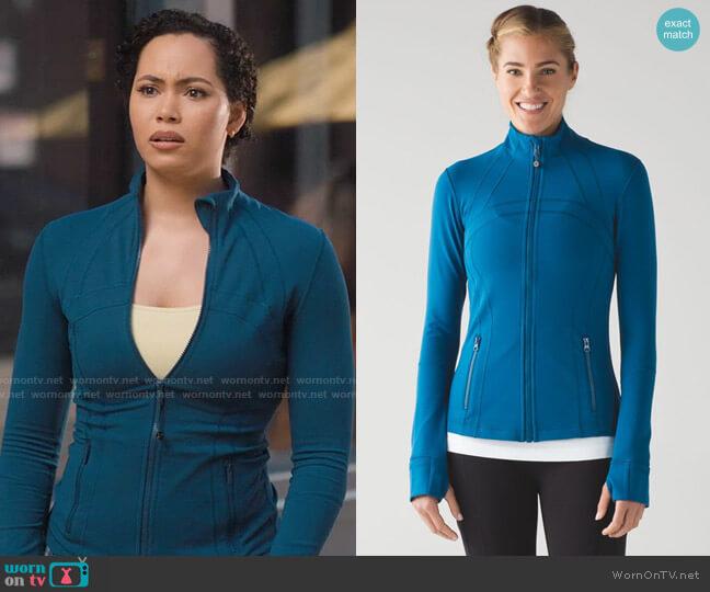 Lululemon Define Jacket worn by Macy Vaughn (Madeleine Mantock) on Charmed