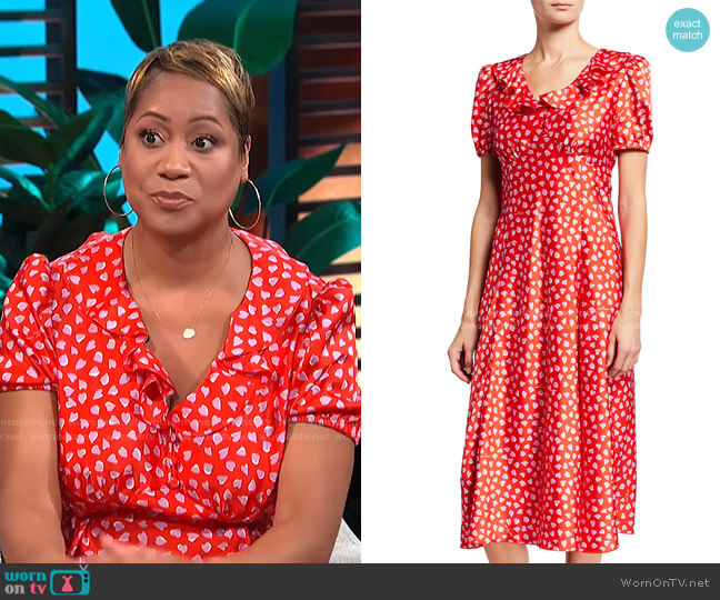 The Love Dress by Marc Jacobs worn by Monique Kelley on E! News Daily Pop